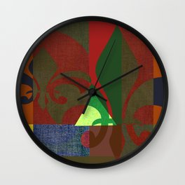 FLORAL 015 Wall Clock