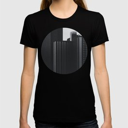Black and White Buildings T-shirt