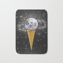 MOON ICE CREAM Bath Mat