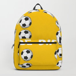 Be Different Golf Football Backpack