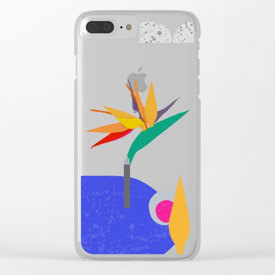 Take me to paradise. Please. Clear iPhone Case