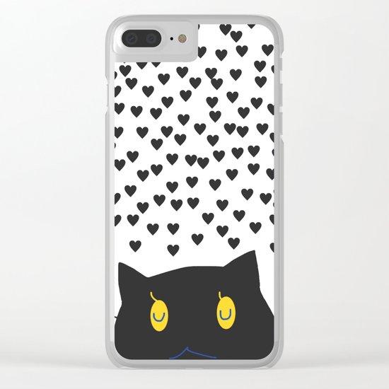 cat-40 Clear iPhone Case