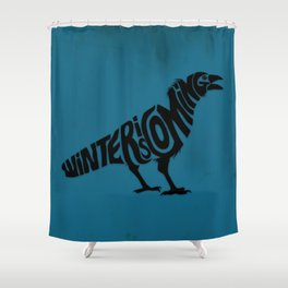 The three-eyed crow Shower Curtain