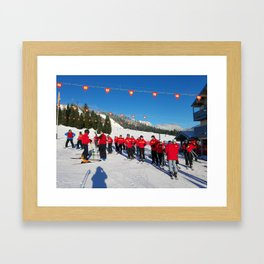 Webbski Instructors Framed Art Print