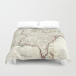 Thirteen Colonies Vintage Map (1776) Duvet Cover