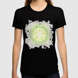 Triptychs Unveiled Flower  ID:16165-114729-45271 T-shirt