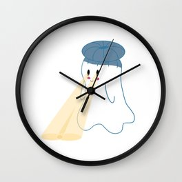Little Ghost Project Wall Clock