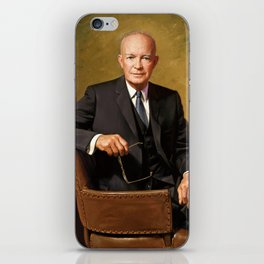 President Dwight Eisenhower Painting iPhone Skin