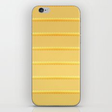 Tagged Gold no11 iPhone & iPod Skin