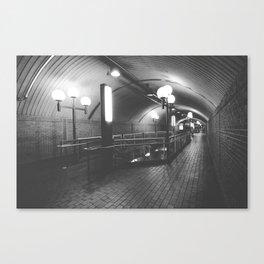Montreal Subway | Métro de Montréal | Snowdon Canvas Print