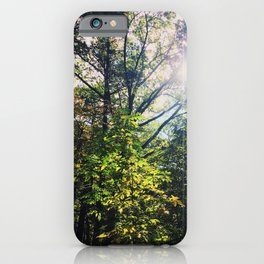 Shining down onto thee iPhone Case