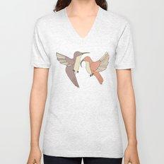 Dancing Hummingbirds Unisex V-Neck