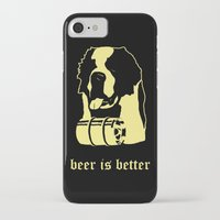 beer iPhone & iPod Cases featuring Beer by Andrea Bettin ART