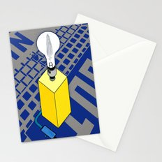 The case of The Light Switch. Stationery Cards