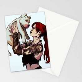 In trouble Stationery Cards
