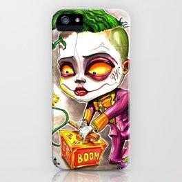 I Started A Joke iPhone Case