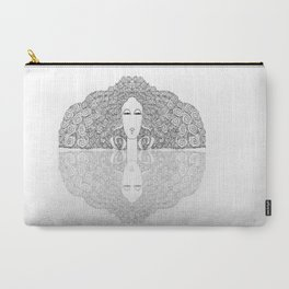 Mirror Lady Carry-All Pouch