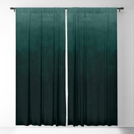 Ombre Emerald Blackout Curtain