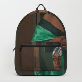 African American Masterpiece 'Portrait of the African Woman Aicha Goblet' by Felix Vallotton Backpack
