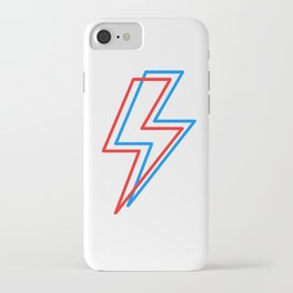 3D Lightening Bolt iPhone Case