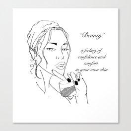 Beauty Standards Canvas Print