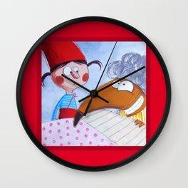 Cappuccetto Rosso -2 Wall Clock