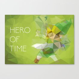 Link: Hero of Time Canvas Print