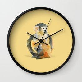 Spider Monkey. Wall Clock