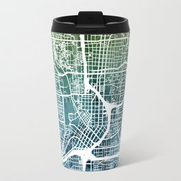 Atlanta Georgia City Map Travel Mug