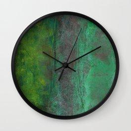 Green, Soil, Nature Wall Clock