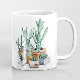 Potted Cacti Coffee Mug