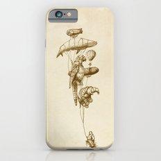 The Helium Menagerie (sepia) iPhone 6 Slim Case