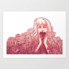 You took my heart...  Art Print