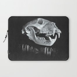 Bear Skull Still Life Laptop Sleeve