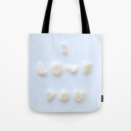 My noodles Loves You Tote Bag