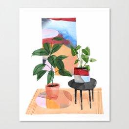 Indoor Plants 1 Canvas Print