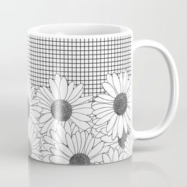 Daisy Grid Coffee Mug