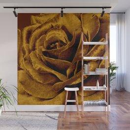 copper velvet rose Wall Mural