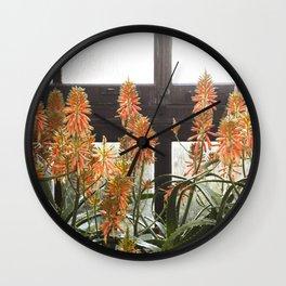 Torch Aloe Wall Clock