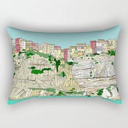 Bonifaccio in Corsica Rectangular Pillow