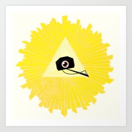 All Seeing Cams Art Print