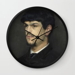 Claude Debussy (1862 – 1918) by Marcel Baschet, 1884 Wall Clock