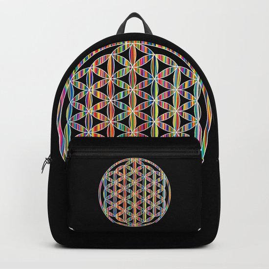 Flower of Life Colored | Kids Room | Delight Backpack