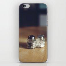 SALT & PEPPA iPhone Skin