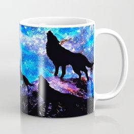 Wolf Trio Coffee Mug