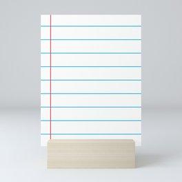 The Writer Mini Art Print