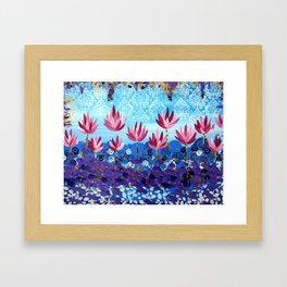 Lotus Dreaming Framed Art Print