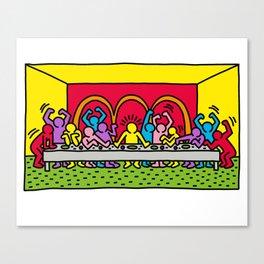 Happy Supper Canvas Print