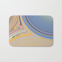 Abstract Creation by Robert S. Lee Bath Mat