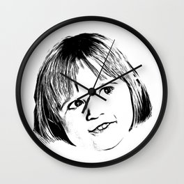 This Smile Wall Clock